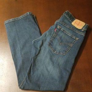 Boys Levi's 505 Regular blue jeans